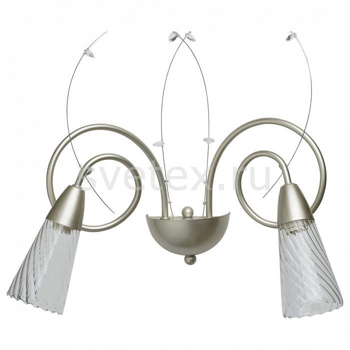 Бра MW-LightНастенные светильники<br>Артикул - MW_303021402,Бренд - MW-Light (Германия),Коллекция - Эллегия 3,Гарантия, месяцы - 24,Ширина, мм - 450,Высота, мм - 250,Выступ, мм - 420,Тип лампы - компактная люминесцентная [КЛЛ] ИЛИнакаливания ИЛИсветодиодная [LED],Общее кол-во ламп - 2,Напряжение питания лампы, В - 220,Максимальная мощность лампы, Вт - 40,Лампы в комплекте - отсутствуют,Цвет плафонов и подвесок - неокрашенный,Тип поверхности плафонов - прозрачный, рельефный,Материал плафонов и подвесок - стекло, хрусталь,Цвет арматуры - серебро античное,Тип поверхности арматуры - матовый,Материал арматуры - металл,Количество плафонов - 2,Возможность подлючения диммера - можно, если установить лампу накаливания,Тип цоколя лампы - E14,Класс электробезопасности - I,Общая мощность, Вт - 80,Степень пылевлагозащиты, IP - 20,Диапазон рабочих температур - комнатная температура,Дополнительные параметры - способ крепления светильника на стене – на монтажной пластине, светильник предназначен для использования со скрытой проводкой<br>