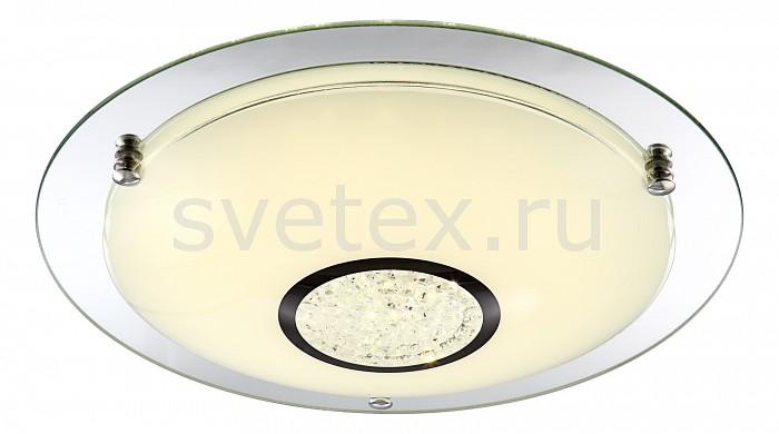 Накладной светильник GloboКруглые<br>Артикул - GB_48241,Бренд - Globo (Австрия),Коллекция - Amada,Гарантия, месяцы - 24,Высота, мм - 105,Диаметр, мм - 415,Тип лампы - светодиодная [LED],Общее кол-во ламп - 1,Напряжение питания лампы, В - 29.7,Максимальная мощность лампы, Вт - 18,Цвет лампы - белый,Лампы в комплекте - светодиодная [LED],Цвет плафонов и подвесок - белый, неокрашенный,Тип поверхности плафонов - матовый, прозрачный,Материал плафонов и подвесок - стекло, хрусталь K5,Цвет арматуры - неокрашенный, хром,Тип поверхности арматуры - глянцевый,Материал арматуры - металл,Количество плафонов - 1,Возможность подлючения диммера - нельзя,Компоненты, входящие в комплект - блок питания 29.7В,Цветовая температура, K - 4000 K,Световой поток, лм - 1440,Экономичнее лампы накаливания - в 5.8 раза,Светоотдача, лм/Вт - 80,Класс электробезопасности - I,Напряжение питания, В - 220,Степень пылевлагозащиты, IP - 20,Диапазон рабочих температур - комнатная температура<br>