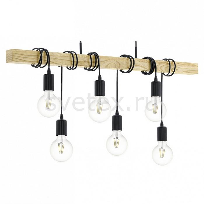 Подвесной светильник EgloДеревянные<br>Артикул - EG_95499,Бренд - Eglo (Австрия),Коллекция - Townshend,Гарантия, месяцы - 24,Длина, мм - 1000,Высота, мм - 1100,Размер упаковки, мм - 302x1068x202,Тип лампы - компактная люминесцентная [КЛЛ] ИЛИнакаливания ИЛИсветодиодная [LED],Общее кол-во ламп - 6,Напряжение питания лампы, В - 220,Максимальная мощность лампы, Вт - 60,Лампы в комплекте - отсутствуют,Цвет арматуры - коричневый, черный,Тип поверхности арматуры - матовый,Материал арматуры - дерево, металл,Возможность подлючения диммера - можно, если установить лампу накаливания,Тип цоколя лампы - E27,Класс электробезопасности - I,Общая мощность, Вт - 360,Степень пылевлагозащиты, IP - 20,Диапазон рабочих температур - комнатная температура,Дополнительные параметры - способ крепления светильника к потолку - на монтажной пластине, регулируется по высоте<br>