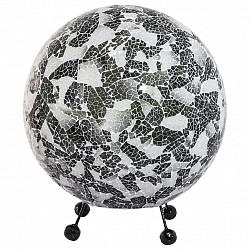 Настольная лампа GloboСтеклянный плафон<br>Артикул - GB_25831,Бренд - Globo (Австрия),Коллекция - Bali,Гарантия, месяцы - 24,Высота, мм - 320,Диаметр, мм - 310,Размер упаковки, мм - 310х310х350,Тип лампы - компактная люминесцентная [КЛЛ] ИЛИнакаливания ИЛИсветодиодная [LED],Общее кол-во ламп - 1,Напряжение питания лампы, В - 220,Максимальная мощность лампы, Вт - 60,Лампы в комплекте - отсутствуют,Цвет плафонов и подвесок - белый, серый, черный,Тип поверхности плафонов - матовый,Материал плафонов и подвесок - стекло,Цвет арматуры - черный,Тип поверхности арматуры - матовый,Материал арматуры - металл,Тип цоколя лампы - E27,Класс электробезопасности - II,Степень пылевлагозащиты, IP - 20,Диапазон рабочих температур - комнатная температура<br>