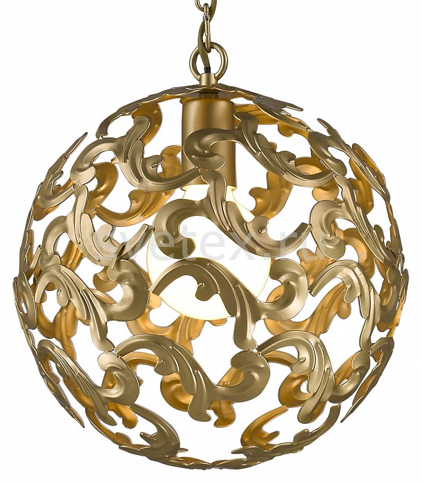 Подвесной светильник FavouriteБарные<br>Артикул - FV_1469-1P,Бренд - Favourite (Германия),Коллекция - Dorata,Гарантия, месяцы - 24,Время изготовления, дней - 1,Высота, мм - 300-1300,Диаметр, мм - 300,Тип лампы - компактная люминесцентная [КЛЛ] ИЛИнакаливания ИЛИсветодиодная [LED],Общее кол-во ламп - 1,Напряжение питания лампы, В - 220,Максимальная мощность лампы, Вт - 60,Лампы в комплекте - отсутствуют,Цвет плафонов и подвесок - золото,Тип поверхности плафонов - глянцевый,Материал плафонов и подвесок - металл,Цвет арматуры - золото,Тип поверхности арматуры - глянцевый,Материал арматуры - металл,Количество плафонов - 1,Возможность подлючения диммера - можно, если установить лампу накаливания,Тип цоколя лампы - E27,Класс электробезопасности - I,Степень пылевлагозащиты, IP - 20,Диапазон рабочих температур - комнатная температура<br>