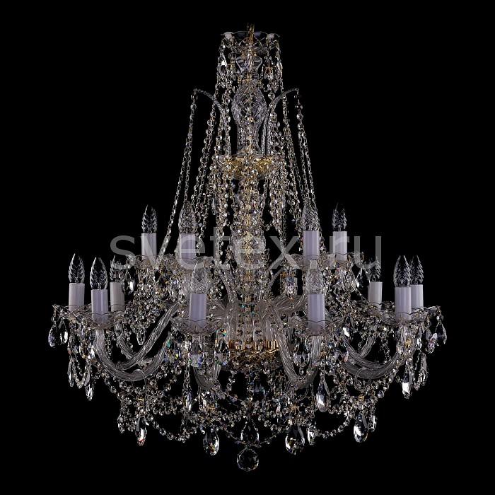 Фото Подвесная люстра Bohemia Ivele Crystal 1411 1411/10_5/300/G