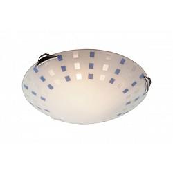 Накладной светильник SonexКруглые<br>Артикул - SN_364,Бренд - Sonex (Россия),Коллекция - Quadro,Гарантия, месяцы - 24,Диаметр, мм - 500,Тип лампы - компактная люминесцентная [КЛЛ] ИЛИнакаливания ИЛИсветодиодная [LED],Общее кол-во ламп - 3,Напряжение питания лампы, В - 220,Максимальная мощность лампы, Вт - 100,Лампы в комплекте - отсутствуют,Цвет плафонов и подвесок - белый с синим рисунком,Тип поверхности плафонов - матовый,Материал плафонов и подвесок - стекло,Цвет арматуры - хром,Тип поверхности арматуры - глянцевый,Материал арматуры - металл,Количество плафонов - 1,Возможность подлючения диммера - можно, если установить лампу накаливания,Тип цоколя лампы - E27,Класс электробезопасности - I,Общая мощность, Вт - 300,Степень пылевлагозащиты, IP - 20,Диапазон рабочих температур - комнатная температура<br>