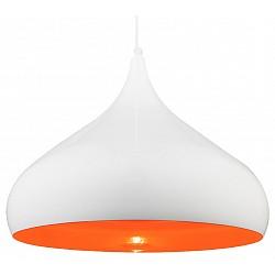 Подвесной светильник GloboДля кухни<br>Артикул - GB_15204,Бренд - Globo (Австрия),Коллекция - Franziska,Гарантия, месяцы - 24,Высота, мм - 1500,Диаметр, мм - 420,Тип лампы - компактная люминесцентная [КЛЛ] ИЛИнакаливания ИЛИсветодиодная [LED],Общее кол-во ламп - 1,Напряжение питания лампы, В - 220,Максимальная мощность лампы, Вт - 60,Лампы в комплекте - отсутствуют,Цвет плафонов и подвесок - белый, оранжевый,Тип поверхности плафонов - матовый,Материал плафонов и подвесок - металл,Цвет арматуры - белый,Тип поверхности арматуры - матовый,Материал арматуры - металл,Возможность подлючения диммера - можно, если установить лампу накаливания,Тип цоколя лампы - E27,Класс электробезопасности - I,Степень пылевлагозащиты, IP - 20,Диапазон рабочих температур - комнатная температура,Дополнительные параметры - способ крепления к потолку - на монтажной пластине, регулируется по высоте<br>