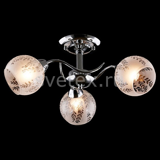 Люстра на штанге ОптимаЛюстры<br>Артикул - EV_76492,Бренд - Оптима (Китай),Коллекция - Атланта,Гарантия, месяцы - 24,Высота, мм - 300,Диаметр, мм - 470,Тип лампы - компактная люминесцентная [КЛЛ] ИЛИнакаливания ИЛИсветодиодная [LED],Общее кол-во ламп - 3,Напряжение питания лампы, В - 220,Максимальная мощность лампы, Вт - 60,Лампы в комплекте - отсутствуют,Цвет плафонов и подвесок - белый с неокрашенным рисунком,Тип поверхности плафонов - матовый,Материал плафонов и подвесок - стекло,Цвет арматуры - хром,Тип поверхности арматуры - глянцевый,Материал арматуры - металл,Количество плафонов - 3,Возможность подлючения диммера - можно, если установить лампу накаливания,Тип цоколя лампы - E27,Класс электробезопасности - I,Общая мощность, Вт - 180,Степень пылевлагозащиты, IP - 20,Диапазон рабочих температур - комнатная температура,Дополнительные параметры - способ крепления светильника к потолку - на монтажной пластине<br>