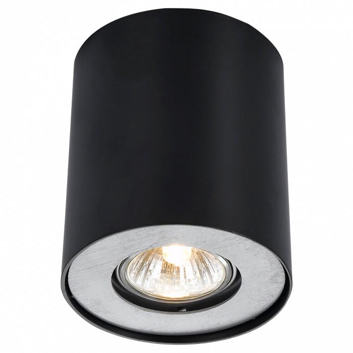 Накладной светильник Arte LampПотолочные светильники<br>Артикул - AR_A5633PL-1BK,Бренд - Arte Lamp (Италия),Коллекция - Falcon,Гарантия, месяцы - 24,Высота, мм - 130,Диаметр, мм - 110,Размер упаковки, мм - 110x130x110,Тип лампы - галогеновая ИЛИсветодиодная [LED],Общее кол-во ламп - 1,Напряжение питания лампы, В - 220,Максимальная мощность лампы, Вт - 50,Лампы в комплекте - отсутствуют,Цвет арматуры - черный,Тип поверхности арматуры - матовый,Материал арматуры - металл,Форма и тип колбы - полусферическая с рефлектором,Тип цоколя лампы - GU10,Класс электробезопасности - I,Степень пылевлагозащиты, IP - 20,Диапазон рабочих температур - комнатная температура<br>
