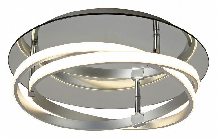 Накладной светильник MantraСветодиодные<br>Артикул - MN_5382,Бренд - Mantra (Испания),Коллекция - Infinity,Гарантия, месяцы - 24,Высота, мм - 140,Диаметр, мм - 430,Тип лампы - светодиодная [LED],Общее кол-во ламп - 2,Напряжение питания лампы, В - 220,Максимальная мощность лампы, Вт - 15,Цвет лампы - белый теплый,Лампы в комплекте - светодиодные [LED],Цвет плафонов и подвесок - белый,Тип поверхности плафонов - матовый,Материал плафонов и подвесок - акрил,Цвет арматуры - хром,Тип поверхности арматуры - глянцевый,Материал арматуры - металл,Количество плафонов - 2,Возможность подлючения диммера - нельзя,Цветовая температура, K - 3000 K,Световой поток, лм - 2500,Экономичнее лампы накаливания - в 5.8 раз,Светоотдача, лм/Вт - 83,Класс электробезопасности - I,Общая мощность, Вт - 30,Степень пылевлагозащиты, IP - 20,Диапазон рабочих температур - комнатная температура,Дополнительные параметры - способ крепления светильника к потолку – на монтажной пластине<br>