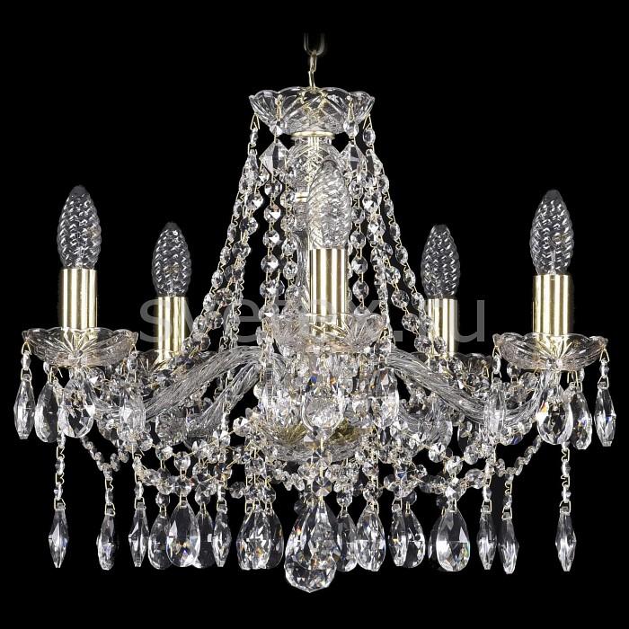 Подвесная люстра Bohemia Ivele Crystal5 или 6 ламп<br>Артикул - BI_1413_5_165_G,Бренд - Bohemia Ivele Crystal (Чехия),Коллекция - 1413,Гарантия, месяцы - 24,Высота, мм - 340,Диаметр, мм - 480,Размер упаковки, мм - 450x450x200,Тип лампы - компактная люминесцентная [КЛЛ] ИЛИнакаливания ИЛИсветодиодная [LED],Общее кол-во ламп - 5,Напряжение питания лампы, В - 220,Максимальная мощность лампы, Вт - 40,Лампы в комплекте - отсутствуют,Цвет плафонов и подвесок - неокрашенный,Тип поверхности плафонов - прозрачный,Материал плафонов и подвесок - хрусталь,Цвет арматуры - золото, неокрашенный,Тип поверхности арматуры - глянцевый, прозрачный,Материал арматуры - металл, стекло,Возможность подлючения диммера - можно, если установить лампу накаливания,Форма и тип колбы - свеча ИЛИ свеча на ветру,Тип цоколя лампы - E14,Класс электробезопасности - I,Общая мощность, Вт - 200,Степень пылевлагозащиты, IP - 20,Диапазон рабочих температур - комнатная температура,Дополнительные параметры - способ крепления светильника к потолку - на крюке, указана высота светильники без подвеса<br>