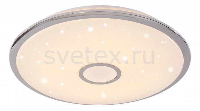 Накладной светильник CitiluxКруглые<br>Артикул - CL703100R,Бренд - Citilux (Дания),Коллекция - Старлайт,Гарантия, месяцы - 24,Выступ, мм - 105,Диаметр, мм - 670,Тип лампы - светодиодная [LED],Общее кол-во ламп - 100,Напряжение питания лампы, В - 220,Максимальная мощность лампы, Вт - 1,Цвет лампы - белый теплый - белый,Лампы в комплекте - светодиодные [LED],Цвет плафонов и подвесок - белый с хромированной каймой,Тип поверхности плафонов - глянцевый, матовый,Материал плафонов и подвесок - полимер,Цвет арматуры - белый,Тип поверхности арматуры - матовый,Материал арматуры - металл,Количество плафонов - 1,Наличие выключателя, диммера или пульта ДУ - пульт ДУ,Цветовая температура, K - 3000 - 4500 K,Экономичнее лампы накаливания - в 10 раз,Класс электробезопасности - I,Общая мощность, Вт - 100,Степень пылевлагозащиты, IP - 44,Диапазон рабочих температур - комнатная температура,Дополнительные параметры - способ крепления светильника к стене и потолку - на монтажной пластине<br>