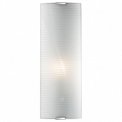 Накладной светильник SonexСветодиодные<br>Артикул - SN_1225_L,Бренд - Sonex (Россия),Коллекция - Arbako,Гарантия, месяцы - 24,Размер упаковки, мм - 140x420x420,Тип лампы - компактная люминесцентная [КЛЛ] ИЛИнакаливания ИЛИсветодиодная [LED],Общее кол-во ламп - 1,Напряжение питания лампы, В - 220,Максимальная мощность лампы, Вт - 60,Лампы в комплекте - отсутствуют,Цвет плафонов и подвесок - белый полосатый,Тип поверхности плафонов - матовый,Материал плафонов и подвесок - стекло,Цвет арматуры - хром,Тип поверхности арматуры - глянцевый,Материал арматуры - металл,Возможность подлючения диммера - можно, если установить лампу накаливания,Тип цоколя лампы - E14,Класс электробезопасности - I,Степень пылевлагозащиты, IP - 20,Диапазон рабочих температур - комнатная температура,Дополнительные параметры - способ крепления светильника на потолке и стене - на монтажной пластине<br>