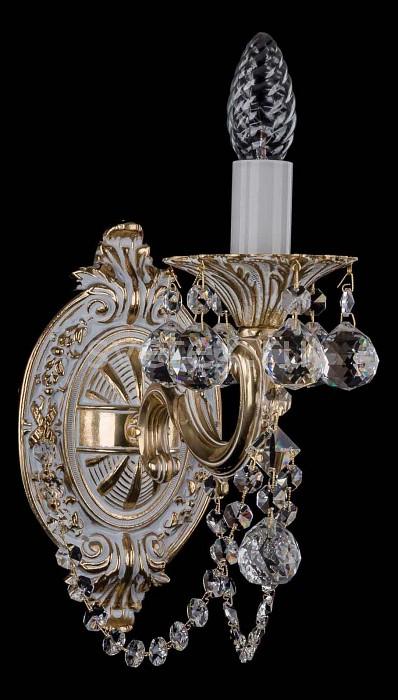 Фото Бра Bohemia Ivele Crystal 1700 1700/1/C/GW/Balls