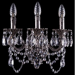 Бра Bohemia Ivele CrystalБолее 1 лампы<br>Артикул - BI_1700_3_C_NB,Бренд - Bohemia Ivele Crystal (Чехия),Коллекция - 1700,Гарантия, месяцы - 24,Высота, мм - 270,Размер упаковки, мм - 250x180x170,Тип лампы - компактная люминесцентная [КЛЛ] ИЛИнакаливания ИЛИсветодиодная [LED],Общее кол-во ламп - 3,Напряжение питания лампы, В - 220,Максимальная мощность лампы, Вт - 40,Лампы в комплекте - отсутствуют,Цвет плафонов и подвесок - неокрашенный,Тип поверхности плафонов - прозрачный,Материал плафонов и подвесок - хрусталь,Цвет арматуры - никель черненый,Тип поверхности арматуры - глянцевый, рельефный,Материал арматуры - латунь,Возможность подлючения диммера - можно, если установить лампу накаливания,Форма и тип колбы - свеча ИЛИ свеча на ветру,Тип цоколя лампы - E14,Класс электробезопасности - I,Общая мощность, Вт - 120,Степень пылевлагозащиты, IP - 20,Диапазон рабочих температур - комнатная температура,Дополнительные параметры - способ крепления светильника на стене – на монтажной пластине, светильник предназначен для использования со скрытой проводкой<br>