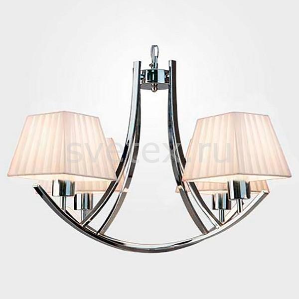 Подвесная люстра EurosvetСветильники<br>Артикул - EV_77075,Бренд - Eurosvet (Китай),Коллекция - Gabriel,Гарантия, месяцы - 24,Высота, мм - 400-700,Диаметр, мм - 600,Тип лампы - компактная люминесцентная [КЛЛ] ИЛИнакаливания ИЛИсветодиодная [LED],Общее кол-во ламп - 4,Напряжение питания лампы, В - 220,Максимальная мощность лампы, Вт - 40,Лампы в комплекте - отсутствуют,Цвет плафонов и подвесок - белый,Тип поверхности плафонов - матовый,Материал плафонов и подвесок - текстиль,Цвет арматуры - хром,Тип поверхности арматуры - глянцевый,Материал арматуры - металл,Количество плафонов - 4,Возможность подлючения диммера - можно, если установить лампу накаливания,Тип цоколя лампы - E27,Класс электробезопасности - I,Общая мощность, Вт - 160,Степень пылевлагозащиты, IP - 20,Диапазон рабочих температур - комнатная температура,Дополнительные параметры - способ крепления светильника к потолку - на крюке, светильник регулируется по высоте<br>