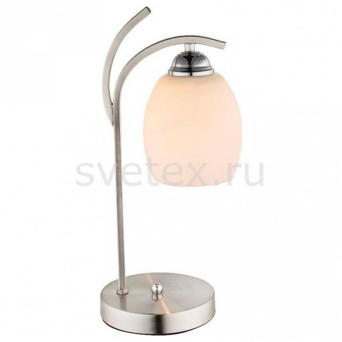 Настольная лампа декоративная Globoприкроватные светильники для спальни купить<br>Артикул - GB_60214T,Бренд - Globo (Австрия),Коллекция - Till,Гарантия, месяцы - 24,Ширина, мм - 150,Высота, мм - 400,Выступ, мм - 175,Тип лампы - компактная люминесцентная [КЛЛ] ИЛИнакаливания ИЛИсветодиодная [LED],Общее кол-во ламп - 1,Напряжение питания лампы, В - 220,Максимальная мощность лампы, Вт - 60,Лампы в комплекте - отсутствуют,Цвет плафонов и подвесок - белый,Тип поверхности плафонов - матовый,Материал плафонов и подвесок - стекло,Цвет арматуры - хром,Тип поверхности арматуры - глянцевый,Материал арматуры - металл,Количество плафонов - 1,Наличие выключателя, диммера или пульта ДУ - выключатель,Компоненты, входящие в комплект - провод электропитания с вилкой без заземления,Тип цоколя лампы - E27,Класс электробезопасности - II,Степень пылевлагозащиты, IP - 20,Диапазон рабочих температур - комнатная температура<br>