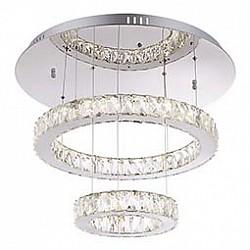 Подвесной светильник GloboС пультом управления<br>Артикул - GB_49350D2,Бренд - Globo (Австрия),Коллекция - Amur,Гарантия, месяцы - 24,Высота, мм - 500,Диаметр, мм - 600,Тип лампы - светодиодная [LED],Общее кол-во ламп - 1,Напряжение питания лампы, В - 77,Максимальная мощность лампы, Вт - 72,Лампы в комплекте - светодиодная [LED],Цвет плафонов и подвесок - неокрашенный,Тип поверхности плафонов - прозрачный,Материал плафонов и подвесок - стекло, хрусталь K5,Цвет арматуры - хром,Тип поверхности арматуры - глянцевый,Материал арматуры - металл,Класс электробезопасности - I,Степень пылевлагозащиты, IP - 20,Диапазон рабочих температур - комнатная температура,Дополнительные параметры - способ крепления светильника к потолку -  на монтажной пластине, регулируется по высоте<br>