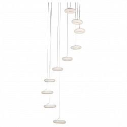 Подвесной светильник ST-LuceБарные<br>Артикул - SL902.503.10,Бренд - ST-Luce (Китай),Коллекция - SL902,Гарантия, месяцы - 24,Высота, мм - 2500,Диаметр, мм - 700,Размер упаковки, мм - 800х800х300,Тип лампы - светодиодная [LED],Общее кол-во ламп - 10,Напряжение питания лампы, В - 220,Максимальная мощность лампы, Вт - 7,Лампы в комплекте - светодиодные [LED],Цвет плафонов и подвесок - белый,Тип поверхности плафонов - глянцевый,Материал плафонов и подвесок - акрил,Цвет арматуры - белый,Тип поверхности арматуры - матовый,Материал арматуры - металл,Возможность подлючения диммера - нельзя,Класс электробезопасности - I,Общая мощность, Вт - 70,Степень пылевлагозащиты, IP - 20,Диапазон рабочих температур - комнатная температура,Дополнительные параметры - регулируется по высоте,  способ крепления светильника к потолку – на монтажной пластине<br>