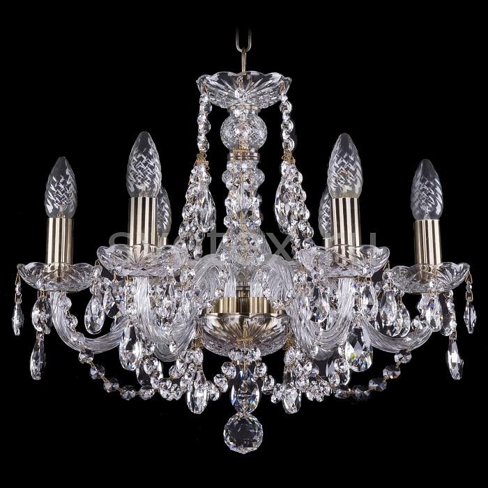 Фото Подвесная люстра Bohemia Ivele Crystal 1406 1406/6/160/Pa