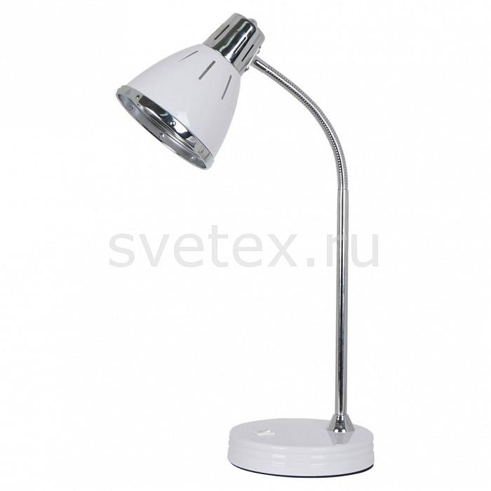 Настольная лампа Arte LampСветильники<br>Артикул - AR_A2215LT-1WH,Бренд - Arte Lamp (Италия),Коллекция - Marted,Гарантия, месяцы - 24,Ширина, мм - 170,Высота, мм - 500,Выступ, мм - 300,Тип лампы - компактная люминесцентная [КЛЛ] ИЛИнакаливания ИЛИсветодиодная [LED],Общее кол-во ламп - 1,Напряжение питания лампы, В - 220,Максимальная мощность лампы, Вт - 60,Лампы в комплекте - отсутствуют,Цвет плафонов и подвесок - белый с каймой,Тип поверхности плафонов - матовый,Материал плафонов и подвесок - металл,Цвет арматуры - белый, хром,Тип поверхности арматуры - глянцевый, матовый,Материал арматуры - металл,Количество плафонов - 1,Наличие выключателя, диммера или пульта ДУ - выключатель,Компоненты, входящие в комплект - провод электропитания с вилкой без заземления,Тип цоколя лампы - E27,Класс электробезопасности - II,Степень пылевлагозащиты, IP - 20,Диапазон рабочих температур - комнатная температура,Дополнительные параметры - поворотный светильник<br>