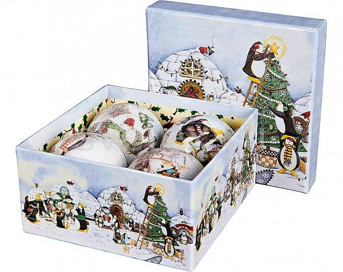 Елочный шар Mister ChristmasЕлочные игрушки<br>Артикул - MC_PM-71-4,Бренд - Mister Christmas (Россия),Коллекция - PM-71,Диаметр, мм - 75,Диаметр - 7.5 см,Цвет - разноцветный,Материал - папье-маше<br>