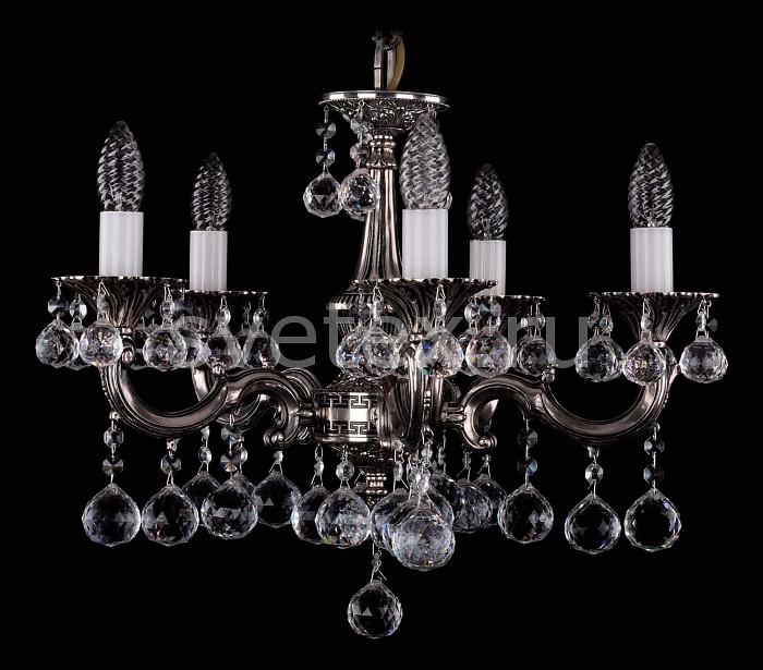 Фото Подвесная люстра Bohemia Ivele Crystal 1701 1701/5/A/NB/Balls