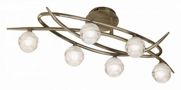 Люстра на штанге MantraЛюстры<br>Артикул - MN_1822,Бренд - Mantra (Испания),Коллекция - Loop,Гарантия, месяцы - 24,Время изготовления, дней - 1,Длина, мм - 650,Ширина, мм - 250,Высота, мм - 240,Тип лампы - галогеновая,Общее кол-во ламп - 6,Напряжение питания лампы, В - 220,Максимальная мощность лампы, Вт - 33,Цвет лампы - белый теплый,Лампы в комплекте - галогеновые G9,Цвет плафонов и подвесок - неокрашенный,Тип поверхности плафонов - матовый,Материал плафонов и подвесок - стекло,Цвет арматуры - латунь античная,Тип поверхности арматуры - матовый,Материал арматуры - металл,Количество плафонов - 6,Возможность подлючения диммера - можно,Форма и тип колбы - пальчиковая,Тип цоколя лампы - G9,Цветовая температура, K - 2800 - 3200 K,Экономичнее лампы накаливания - на 50%,Класс электробезопасности - I,Общая мощность, Вт - 198,Степень пылевлагозащиты, IP - 20,Диапазон рабочих температур - комнатная температура<br>