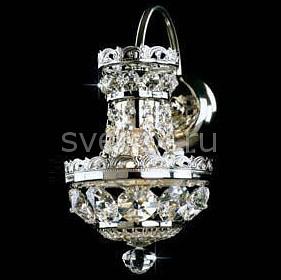 Бра PreciosaС 1 лампой<br>Артикул - PR_25055800104000001,Бренд - Preciosa (Чехия),Коллекция - Brilliant,Гарантия, месяцы - 24,Время изготовления, дней - 1,Ширина, мм - 160,Высота, мм - 320,Выступ, мм - 260,Тип лампы - компактная люминесцентная [КЛЛ] ИЛИнакаливания ИЛИсветодиодная [LED],Общее кол-во ламп - 1,Напряжение питания лампы, В - 220,Максимальная мощность лампы, Вт - 40,Лампы в комплекте - отсутствуют,Цвет плафонов и подвесок - неокрашенный,Тип поверхности плафонов - прозрачный,Материал плафонов и подвесок - хрусталь Standard,Цвет арматуры - никель,Тип поверхности арматуры - глянцевый,Материал арматуры - металл,Возможность подлючения диммера - можно, если установить лампу накаливания,Тип цоколя лампы - E27,Класс электробезопасности - I,Степень пылевлагозащиты, IP - 20,Диапазон рабочих температур - комнатная температура,Дополнительные параметры - светильник предназначен для использования со скрытой проводкой<br>