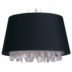 Подвесной светильник DivinareСветодиодные<br>Артикул - DV_1153_01_SP-3,Бренд - Divinare (Италия),Коллекция - Pluvia,Гарантия, месяцы - 24,Высота, мм - 1000-1900,Диаметр, мм - 400,Тип лампы - компактная люминесцентная [КЛЛ] ИЛИнакаливания ИЛИсветодиодная [LED],Общее кол-во ламп - 3,Напряжение питания лампы, В - 220,Максимальная мощность лампы, Вт - 40,Лампы в комплекте - отсутствуют,Цвет плафонов и подвесок - неокрашенный, черный,Тип поверхности плафонов - матовый, прозрачный,Материал плафонов и подвесок - текстиль, хрусталь,Цвет арматуры - хром,Тип поверхности арматуры - глянцевый,Материал арматуры - металл,Возможность подлючения диммера - можно, если установить лампу накаливания,Тип цоколя лампы - E14,Класс электробезопасности - I,Общая мощность, Вт - 120,Степень пылевлагозащиты, IP - 20,Диапазон рабочих температур - комнатная температура,Дополнительные параметры - способ крепления светильника к потолку - на монтажной пластине<br>