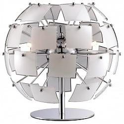 Настольная лампа Odeon LightСтеклянный плафон<br>Артикул - OD_2655_2T,Бренд - Odeon Light (Италия),Коллекция - Vorm,Гарантия, месяцы - 24,Высота, мм - 250,Диаметр, мм - 350,Тип лампы - галогеновая,Общее кол-во ламп - 2,Напряжение питания лампы, В - 220,Максимальная мощность лампы, Вт - 40,Лампы в комплекте - галогеновые G9,Цвет плафонов и подвесок - белый,Тип поверхности плафонов - матовый,Материал плафонов и подвесок - стекло,Цвет арматуры - хром,Тип поверхности арматуры - глянцевый,Материал арматуры - металл,Форма и тип колбы - пальчиковая,Тип цоколя лампы - G9,Класс электробезопасности - II,Общая мощность, Вт - 80,Степень пылевлагозащиты, IP - 20,Диапазон рабочих температур - комнатная температура<br>