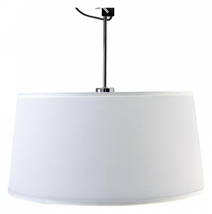 Светильник на штанге MantraКруглые<br>Артикул - MN_5301_5302,Бренд - Mantra (Испания),Коллекция - Habana,Гарантия, месяцы - 24,Высота, мм - 560-805,Диаметр, мм - 450,Тип лампы - компактная люминесцентная [КЛЛ] ИЛИсветодиодная [LED],Общее кол-во ламп - 1,Напряжение питания лампы, В - 220,Максимальная мощность лампы, Вт - 23,Лампы в комплекте - отсутствуют,Цвет плафонов и подвесок - белый,Тип поверхности плафонов - матовый,Материал плафонов и подвесок - текстиль,Цвет арматуры - черный, хром,Тип поверхности арматуры - глянцевый, матовый,Материал арматуры - металл,Количество плафонов - 1,Тип цоколя лампы - E27,Класс электробезопасности - I,Степень пылевлагозащиты, IP - 20,Диапазон рабочих температур - комнатная температура,Дополнительные параметры - способ крепления светильника к потолку - на монтажной пластине, регулируется по высоте<br>