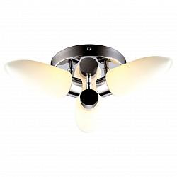 Накладной светильник Arte LampСтеклянный плафон<br>Артикул - AR_A9502PL-3CC,Бренд - Arte Lamp (Италия),Коллекция - Aqua,Гарантия, месяцы - 24,Время изготовления, дней - 1,Высота, мм - 100,Диаметр, мм - 360,Тип лампы - галогеновая,Общее кол-во ламп - 3,Напряжение питания лампы, В - 220,Максимальная мощность лампы, Вт - 33,Лампы в комплекте - галогеновые G9,Цвет плафонов и подвесок - белый,Тип поверхности плафонов - матовый,Материал плафонов и подвесок - стекло,Цвет арматуры - хром,Тип поверхности арматуры - глянцевый,Материал арматуры - металл,Форма и тип колбы - пальчиковая,Тип цоколя лампы - G9,Класс электробезопасности - I,Общая мощность, Вт - 99,Степень пылевлагозащиты, IP - 44,Диапазон рабочих температур - комнатная температура,Дополнительные параметры - способ крепления светильника к потолку – на монтажной пластине<br>