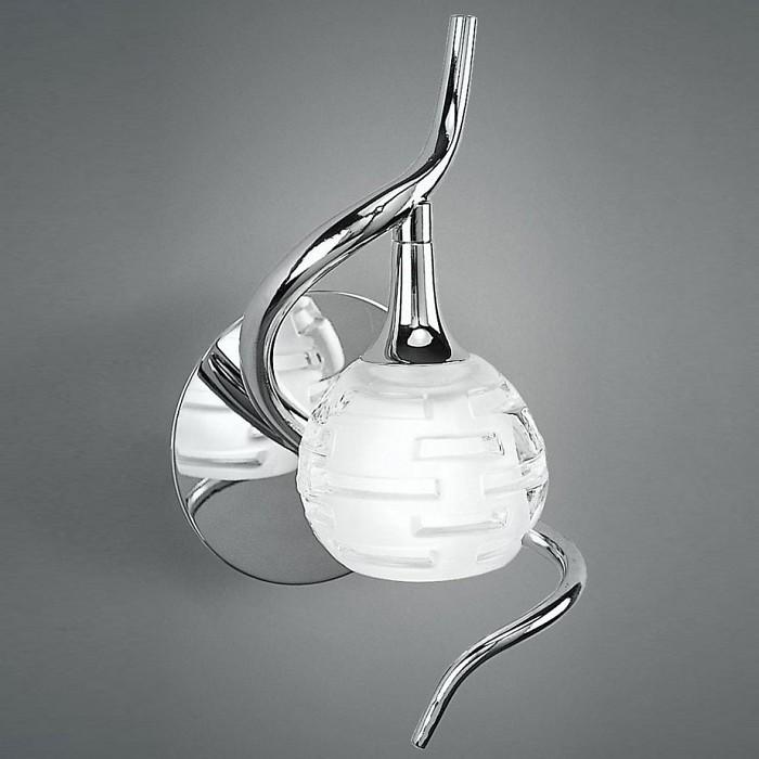 Бра MantraНастенные светильники<br>Артикул - MN_0098,Бренд - Mantra (Испания),Коллекция - Dali,Гарантия, месяцы - 24,Время изготовления, дней - 1,Ширина, мм - 120,Высота, мм - 220,Выступ, мм - 120,Тип лампы - галогеновая,Общее кол-во ламп - 1,Напряжение питания лампы, В - 220,Максимальная мощность лампы, Вт - 40,Цвет лампы - белый теплый,Лампы в комплекте - галогеновая G9,Цвет плафонов и подвесок - неокрашенный,Тип поверхности плафонов - прозрачный, рельефный,Материал плафонов и подвесок - стекло,Цвет арматуры - хром,Тип поверхности арматуры - глянцевый,Материал арматуры - металл,Количество плафонов - 1,Возможность подлючения диммера - можно,Форма и тип колбы - пальчиковая,Тип цоколя лампы - G9,Цветовая температура, K - 2800 - 3200 K,Экономичнее лампы накаливания - на 50%,Класс электробезопасности - I,Степень пылевлагозащиты, IP - 20,Диапазон рабочих температур - комнатная температура,Дополнительные параметры - светильник предназначен для использования со скрытой проводкой<br>