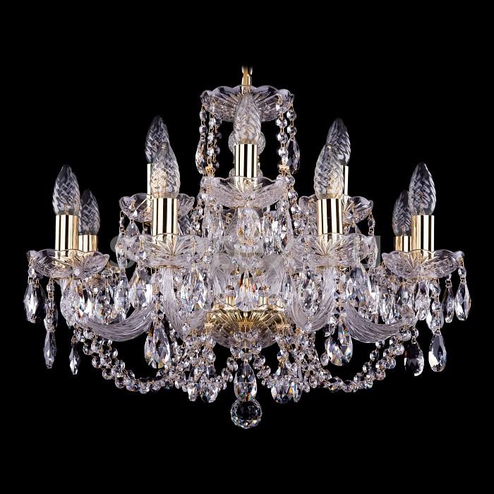 Фото Подвесная люстра Bohemia Ivele Crystal 1406 1406/8_4/195/G