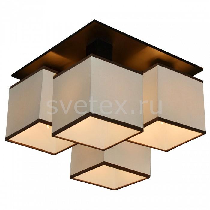 Фото Накладной светильник Arte Lamp Quadro A4402PL-4BK