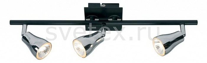 Спот markslojdСпоты<br>Артикул - ML_414323,Бренд - markslojd (Швеция),Коллекция - Blank,Гарантия, месяцы - 24,Длина, мм - 510,Ширина, мм - 80,Выступ, мм - 160,Размер упаковки, мм - 540x230x270,Тип лампы - галогеновая,Общее кол-во ламп - 3,Напряжение питания лампы, В - 220,Максимальная мощность лампы, Вт - 50,Цвет лампы - белый теплый,Лампы в комплекте - галогеновые GU10,Цвет плафонов и подвесок - хром черный,Тип поверхности плафонов - глянцевый,Материал плафонов и подвесок - металл,Цвет арматуры - хром черный, черный,Тип поверхности арматуры - глянцевый,Материал арматуры - металл,Количество плафонов - 3,Возможность подлючения диммера - можно,Форма и тип колбы - полусферическая с рефлектором,Тип цоколя лампы - GU10,Цветовая температура, K - 2800 - 3200 K,Экономичнее лампы накаливания - на 50%,Класс электробезопасности - I,Общая мощность, Вт - 150,Степень пылевлагозащиты, IP - 20,Диапазон рабочих температур - комнатная температура,Дополнительные параметры - способ крепления к потолку и стене - на монтажной пластине, поворотный светильник<br>
