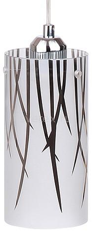 Подвесной светильник 33 идеиПодвесные светильники<br>Артикул - ZZ_PND.103.01.03.CH,Бренд - 33 идеи (Россия),Коллекция - PND.103,Высота, мм - 100-1100,Диаметр, мм - 100,Тип лампы - компактная люминесцентная [КЛЛ] ИЛИнакаливания ИЛИсветодиодная [LED],Общее кол-во ламп - 1,Напряжение питания лампы, В - 220,Максимальная мощность лампы, Вт - 75,Лампы в комплекте - отсутствуют,Цвет плафонов и подвесок - белый с хромированным рисунком,Тип поверхности плафонов - глянцевый, матовый,Материал плафонов и подвесок - стекло,Цвет арматуры - хром,Тип поверхности арматуры - глянцевый,Материал арматуры - металл,Количество плафонов - 1,Возможность подлючения диммера - можно, если установить лампу накаливания,Тип цоколя лампы - E27,Класс электробезопасности - I,Степень пылевлагозащиты, IP - 20,Диапазон рабочих температур - комнатная температура,Дополнительные параметры - способ крепления светильника к потолку – на монтажной пластине<br>