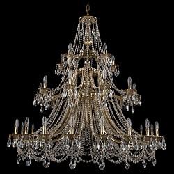 Подвесная люстра Bohemia Ivele CrystalБолее 6 ламп<br>Артикул - BI_1771_20_10_5_490_C_GB,Бренд - Bohemia Ivele Crystal (Чехия),Коллекция - 1771,Гарантия, месяцы - 24,Высота, мм - 1200,Диаметр, мм - 1350,Размер упаковки, мм - 710x710x350,Тип лампы - компактная люминесцентная [КЛЛ] ИЛИнакаливания ИЛИсветодиодная [LED],Общее кол-во ламп - 35,Напряжение питания лампы, В - 220,Максимальная мощность лампы, Вт - 40,Лампы в комплекте - отсутствуют,Цвет плафонов и подвесок - неокрашенный,Тип поверхности плафонов - прозрачный,Материал плафонов и подвесок - хрусталь,Цвет арматуры - золото черненое,Тип поверхности арматуры - глянцевый, рельефный,Материал арматуры - латунь,Возможность подлючения диммера - можно, если установить лампу накаливания,Форма и тип колбы - свеча ИЛИ свеча на ветру,Тип цоколя лампы - E14,Класс электробезопасности - I,Общая мощность, Вт - 1400,Степень пылевлагозащиты, IP - 20,Диапазон рабочих температур - комнатная температура,Дополнительные параметры - способ крепления светильника к потолку - на крюке, указана высота светильника без подвеса<br>