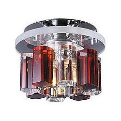 Встраиваемый светильник NovotechКруглые<br>Артикул - NV_369348,Бренд - Novotech (Венгрия),Коллекция - Caramel 1,Гарантия, месяцы - 24,Диаметр, мм - 100,Тип лампы - галогеновая ИЛИсветодиодная [LED],Общее кол-во ламп - 1,Напряжение питания лампы, В - 220,Максимальная мощность лампы, Вт - 40,Лампы в комплекте - отсутствуют,Цвет плафонов и подвесок - янтарный, неокрашенный,Тип поверхности плафонов - прозрачный,Материал плафонов и подвесок - оптическое стекло,Цвет арматуры - хром,Тип поверхности арматуры - глянцевый,Материал арматуры - металл,Возможность подлючения диммера - можно, если установить галогеновую лампу,Форма и тип колбы - пальчиковая,Тип цоколя лампы - G9,Класс электробезопасности - I,Степень пылевлагозащиты, IP - 20,Диапазон рабочих температур - комнатная температура<br>