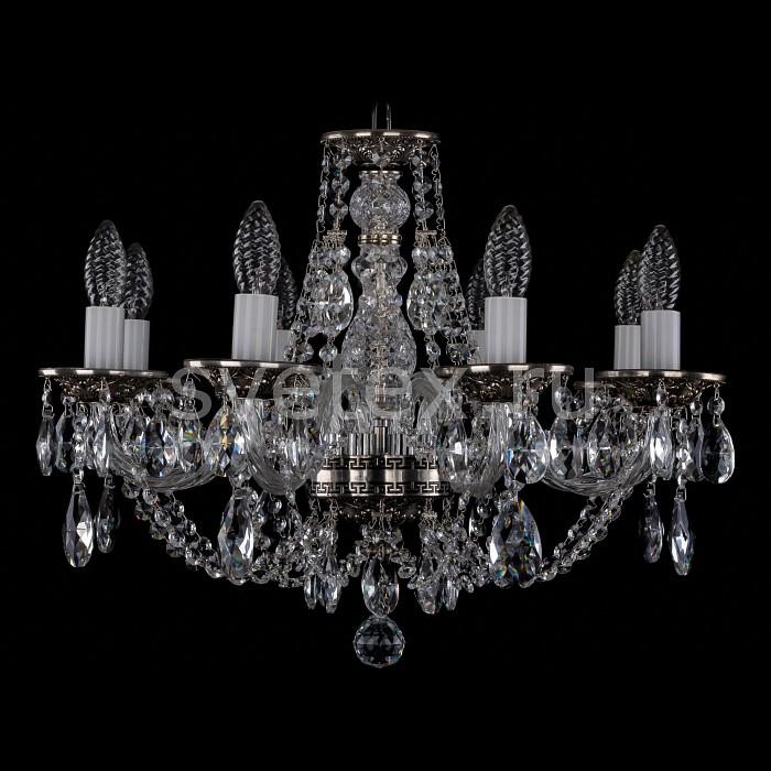 Фото Подвесная люстра Bohemia Ivele Crystal 1606 1606/8/195/NB