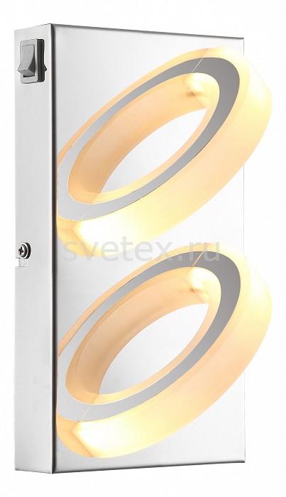Накладной светильник GloboСветодиодные<br>Артикул - GB_67062-2,Бренд - Globo (Австрия),Коллекция - Mangue,Гарантия, месяцы - 24,Длина, мм - 220,Ширина, мм - 125,Выступ, мм - 100,Размер упаковки, мм - 130x105x225,Тип лампы - светодиодная [LED],Общее кол-во ламп - 2,Напряжение питания лампы, В - 12,Максимальная мощность лампы, Вт - 5,Цвет лампы - белый теплый,Лампы в комплекте - светодиодные [LED],Цвет плафонов и подвесок - белый,Тип поверхности плафонов - матовый,Материал плафонов и подвесок - акрил,Цвет арматуры - хром,Тип поверхности арматуры - глянцевый,Материал арматуры - металл,Количество плафонов - 2,Наличие выключателя, диммера или пульта ДУ - выключатель,Компоненты, входящие в комплект - трансформатор 12В,Цветовая температура, K - 3200 K,Световой поток, лм - 220,Экономичнее лампы накаливания - в 6.6 раза,Светоотдача, лм/Вт - 44,Класс электробезопасности - I,Напряжение питания, В - 220,Общая мощность, Вт - 10,Степень пылевлагозащиты, IP - 20,Диапазон рабочих температур - комнатная температура,Дополнительные параметры - способ крепления светильника к стене – на монтажной пластине, светильник предназначен для использования со скрытой проводкой<br>