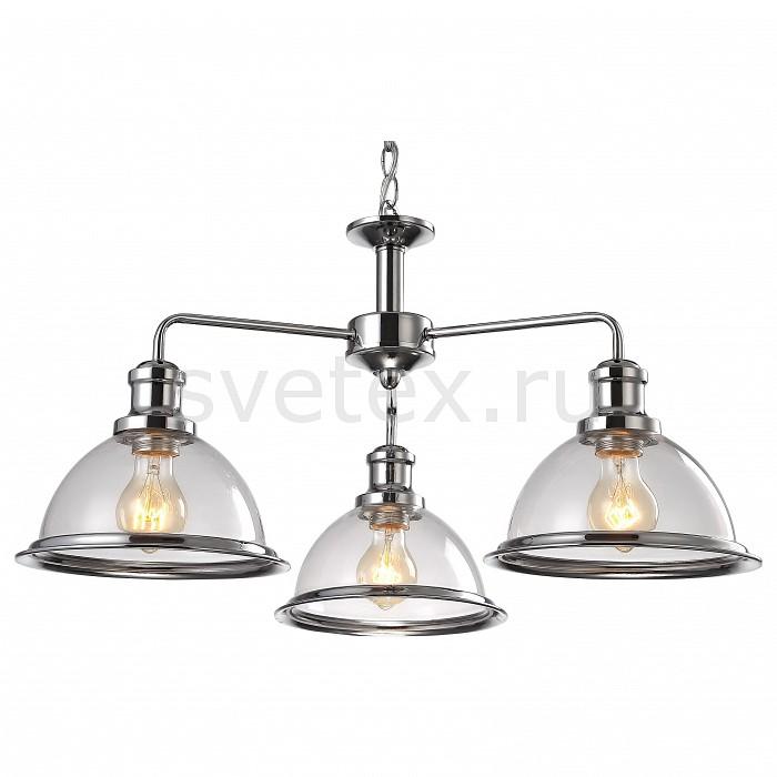 Подвесная люстра Arte LampЛюстры<br>Артикул - AR_A9273LM-3CC,Бренд - Arte Lamp (Италия),Коллекция - Oglio,Гарантия, месяцы - 24,Высота, мм - 350-800,Диаметр, мм - 650,Размер упаковки, мм - 550x490x300,Тип лампы - компактная люминесцентная [КЛЛ] ИЛИнакаливания ИЛИсветодиодная [LED],Общее кол-во ламп - 3,Напряжение питания лампы, В - 220,Максимальная мощность лампы, Вт - 60,Лампы в комплекте - отсутствуют,Цвет плафонов и подвесок - неокрашенный с хромированной каймой,Тип поверхности плафонов - прозрачный,Материал плафонов и подвесок - стекло,Цвет арматуры - хром,Тип поверхности арматуры - глянцевый,Материал арматуры - металл,Количество плафонов - 3,Возможность подлючения диммера - можно, если установить лампу накаливания,Тип цоколя лампы - E27,Класс электробезопасности - I,Общая мощность, Вт - 180,Степень пылевлагозащиты, IP - 20,Диапазон рабочих температур - комнатная температура,Дополнительные параметры - способ крепления светильника к потолку - на монтажной пластине, светильник регулируется по высоте<br>