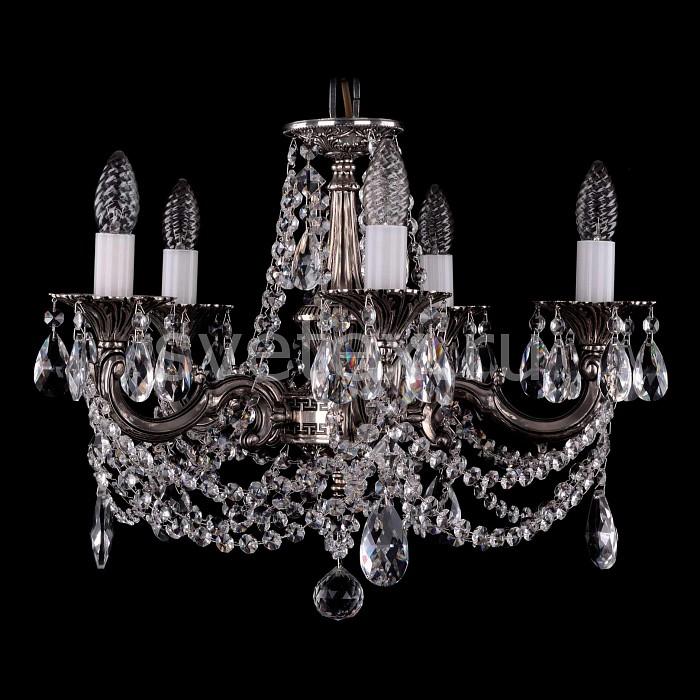 Фото Подвесная люстра Bohemia Ivele Crystal 1701 1701/5/C/NB