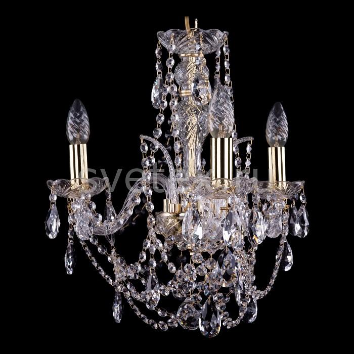 Фото Подвесная люстра Bohemia Ivele Crystal 1411 1411/3/141/G