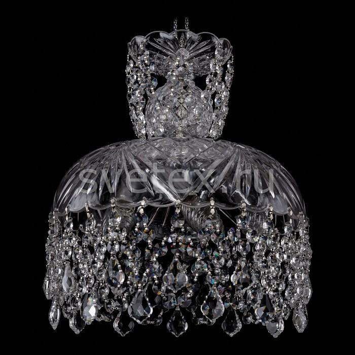 Фото Подвесной светильник Bohemia Ivele Crystal 7711 7711/30/Ni/Leafs