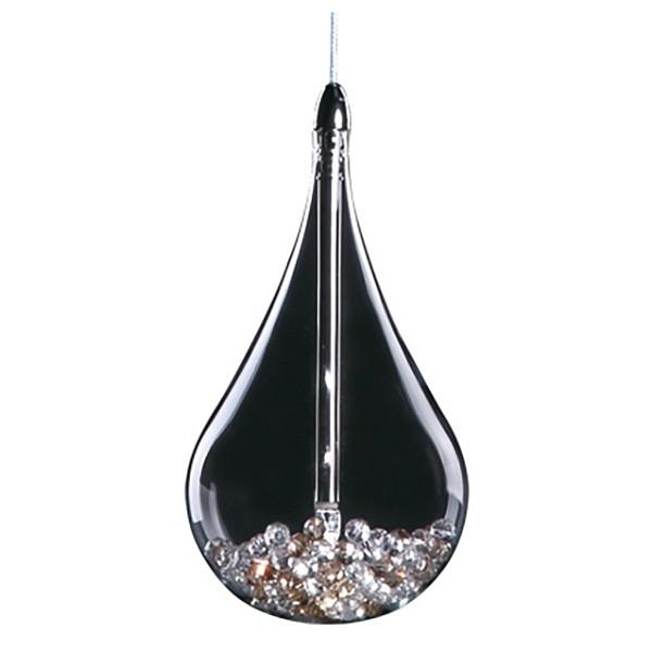 Подвесной светильник Odeon LightПодвесные светильники<br>Артикул - OD_2568_1,Бренд - Odeon Light (Италия),Коллекция - Alna,Гарантия, месяцы - 24,Время изготовления, дней - 1,Высота, мм - 1360,Диаметр, мм - 120,Тип лампы - галогеновая,Общее кол-во ламп - 1,Напряжение питания лампы, В - 12,Максимальная мощность лампы, Вт - 20,Цвет лампы - белый теплый,Лампы в комплекте - галогеновая G4,Цвет плафонов и подвесок - неокрашенный,Тип поверхности плафонов - прозрачный,Материал плафонов и подвесок - хрусталь,Цвет арматуры - хром,Тип поверхности арматуры - глянцевый,Материал арматуры - металл,Количество плафонов - 1,Возможность подлючения диммера - нельзя,Компоненты, входящие в комплект - трансформатор 12 В,Форма и тип колбы - пальчиковая,Тип цоколя лампы - G4,Цветовая температура, K - 2800 - 3200 K,Экономичнее лампы накаливания - на 50%,Класс электробезопасности - I,Напряжение питания, В - 220,Степень пылевлагозащиты, IP - 20,Диапазон рабочих температур - комнатная температура<br>