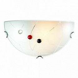 Накладной светильник SonexСветодиодные<br>Артикул - SN_006,Бренд - Sonex (Россия),Коллекция - Kave,Гарантия, месяцы - 24,Высота, мм - 180,Размер упаковки, мм - 120x185x340,Тип лампы - компактная люминесцентная [КЛЛ] ИЛИнакаливания ИЛИсветодиодная [LED],Общее кол-во ламп - 1,Напряжение питания лампы, В - 220,Максимальная мощность лампы, Вт - 100,Лампы в комплекте - отсутствуют,Цвет плафонов и подвесок - белый с рисунком, красный, неокрашенный, черный,Тип поверхности плафонов - матовый, прозрачный,Материал плафонов и подвесок - стекло,Цвет арматуры - хром,Тип поверхности арматуры - глянцевый,Материал арматуры - металл,Возможность подлючения диммера - можно, если установить лампу накаливания,Тип цоколя лампы - E27,Класс электробезопасности - I,Степень пылевлагозащиты, IP - 20,Диапазон рабочих температур - комнатная температура,Дополнительные параметры - способ крепления светильника на стене - на монтажной пластине, светильник предназначен для использования со скрытой проводкой<br>