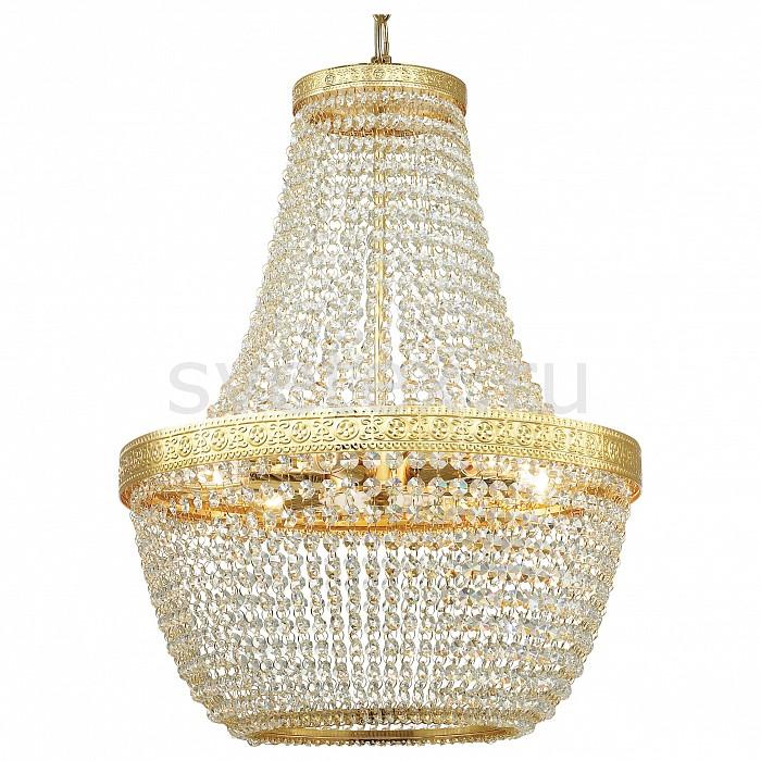 Подвесная люстра Favourite5 или 6 ламп<br>Артикул - FV_1914-6P,Бренд - Favourite (Германия),Коллекция - Premio,Гарантия, месяцы - 24,Высота, мм - 600-1600,Диаметр, мм - 435,Тип лампы - компактная люминесцентная [КЛЛ] ИЛИнакаливания ИЛИсветодиодная [LED],Общее кол-во ламп - 6,Напряжение питания лампы, В - 220,Максимальная мощность лампы, Вт - 40,Лампы в комплекте - отсутствуют,Цвет плафонов и подвесок - неокрашенный,Тип поверхности плафонов - прозрачный,Материал плафонов и подвесок - хрусталь,Цвет арматуры - золото,Тип поверхности арматуры - глянцевый,Материал арматуры - металл,Возможность подлючения диммера - можно, если установить лампу накаливания,Тип цоколя лампы - E14,Класс электробезопасности - I,Общая мощность, Вт - 240,Степень пылевлагозащиты, IP - 20,Диапазон рабочих температур - комнатная температура,Дополнительные параметры - способ крепления светильника к потолку - на монтажной пластине, регулируется по высоте<br>