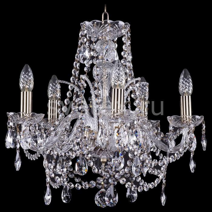 Подвесная люстра Bohemia Ivele Crystal5 или 6 ламп<br>Артикул - BI_1411_5_160_Pa,Бренд - Bohemia Ivele Crystal (Чехия),Коллекция - 1411,Гарантия, месяцы - 24,Высота, мм - 460,Диаметр, мм - 490,Размер упаковки, мм - 450x450x200,Тип лампы - компактная люминесцентная [КЛЛ] ИЛИнакаливания ИЛИсветодиодная [LED],Общее кол-во ламп - 5,Напряжение питания лампы, В - 220,Максимальная мощность лампы, Вт - 40,Лампы в комплекте - отсутствуют,Цвет плафонов и подвесок - неокрашенный,Тип поверхности плафонов - прозрачный,Материал плафонов и подвесок - хрусталь,Цвет арматуры - золото с патиной, неокрашенный,Тип поверхности арматуры - глянцевый, прозрачный, рельефный,Материал арматуры - металл, стекло,Возможность подлючения диммера - можно, если установить лампу накаливания,Форма и тип колбы - свеча ИЛИ свеча на ветру,Тип цоколя лампы - E14,Класс электробезопасности - I,Общая мощность, Вт - 200,Степень пылевлагозащиты, IP - 20,Диапазон рабочих температур - комнатная температура,Дополнительные параметры - способ крепления светильника к потолку - на крюке, указана высота светильника без подвеса<br>