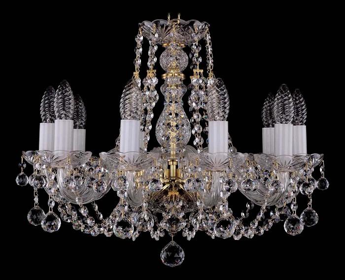Фото Подвесная люстра Bohemia Ivele Crystal 1406 1406/10/160/G/Balls