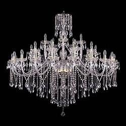 Подвесная люстра Bohemia Ivele CrystalБолее 6 ламп<br>Артикул - BI_1415_20_10_5_530_135_G,Бренд - Bohemia Ivele Crystal (Чехия),Коллекция - 1415,Гарантия, месяцы - 24,Высота, мм - 1350,Диаметр, мм - 1460,Размер упаковки, мм - 710x710x350,Тип лампы - компактная люминесцентная [КЛЛ] ИЛИнакаливания ИЛИсветодиодная [LED],Общее кол-во ламп - 35,Напряжение питания лампы, В - 220,Максимальная мощность лампы, Вт - 40,Лампы в комплекте - отсутствуют,Цвет плафонов и подвесок - неокрашенный,Тип поверхности плафонов - прозрачный,Материал плафонов и подвесок - хрусталь,Цвет арматуры - золото, неокрашенный,Тип поверхности арматуры - глянцевый, прозрачный, рельефный,Материал арматуры - металл, стекло,Возможность подлючения диммера - можно, если установить лампу накаливания,Форма и тип колбы - свеча ИЛИ свеча на ветру,Тип цоколя лампы - E14,Класс электробезопасности - I,Общая мощность, Вт - 1400,Степень пылевлагозащиты, IP - 20,Диапазон рабочих температур - комнатная температура,Дополнительные параметры - способ крепления светильника к потолку - на крюке, указана высота светильника без подвеса<br>