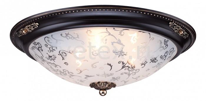 Накладной светильник MaytoniКруглые<br>Артикул - MY_CL907-03-R,Бренд - Maytoni (Германия),Коллекция - Geometry 4,Гарантия, месяцы - 24,Высота, мм - 140,Диаметр, мм - 450,Тип лампы - компактная люминесцентная [КЛЛ] ИЛИнакаливания ИЛИсветодиодная [LED],Общее кол-во ламп - 3,Напряжение питания лампы, В - 220,Максимальная мощность лампы, Вт - 40,Лампы в комплекте - отсутствуют,Цвет плафонов и подвесок - белый с неокрашенным рисунком,Тип поверхности плафонов - матовый,Материал плафонов и подвесок - стекло,Цвет арматуры - темная бронза,Тип поверхности арматуры - матовый, рельефный,Материал арматуры - металл,Количество плафонов - 1,Возможность подлючения диммера - можно, если установить лампу накаливания,Тип цоколя лампы - E27,Класс электробезопасности - I,Общая мощность, Вт - 120,Степень пылевлагозащиты, IP - 20,Диапазон рабочих температур - комнатная температура<br>